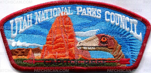 Patch Scan of Utah National Parks Council Capito Reef- csp