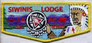 Patch Scan of Siwinis Lodge - Pocket Flap