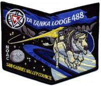 Ta Tanka Lodge - NOAC Pocket Patch San Gabriel Valley Council #40