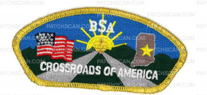 Patch Scan of CROSSROADS OF AMERICA CSP