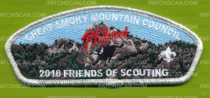 Patch Scan of 2018 Friends of Scouting (GSMC) Philmont CSP