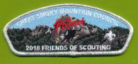 2018 Friends of Scouting (GSMC) Philmont CSP Great Smoky Mountain Council #557