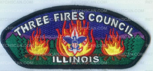 Patch Scan of THREE FIRES COUNCIL ILLINOIS
