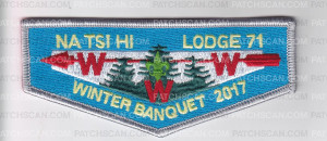 Patch Scan of Natsi Hi Lodge #71 Winter Banquet 2017