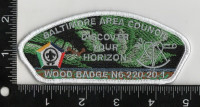 altimore Area Council Wood Badge N6-220-20-1 Discover Your Horizon 2020 Baltimore Area Council #220