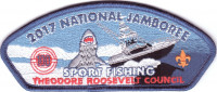 2017 National Jamboree - Theodore Roosevelt Council - Sport Fishing Theodore Roosevelt Council #386