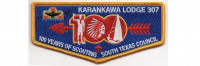 100 Years of Scouting Flap (PO 88161) South Texas Council #577