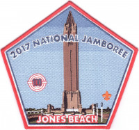 2017 National Jamboree - Theodore Roosevelt Council - Jones Beach - Center Theodore Roosevelt Council #386