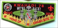 Kwahadi Lodge 78 Home of Crash Site Conquistador Council #413