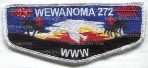 Patch Scan of 32272 - Wewanoma 2013 Lodge Flap