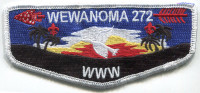 32272 - Wewanoma 2013 Lodge Flap Rio Grande Council #775