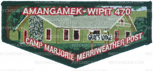 Patch Scan of Amangamek-Wipit 470 Camp Post flap