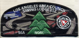 Patch Scan of Los Angeles Area Council - Siwinis CSP