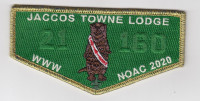 Jaccos Towne Lodge Contingent - Gold Crossroads of America Council #160
