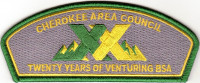 Cherokee Area Council Twenty Years of Venturing CSP Cherokee Area Council #556