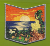 Owasippe Lodge 1921 2018 pocket patch Pathway to Adventure Council #