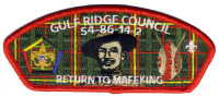 Gulf Ridge Council- Woodbadge  Gulf Ridge Council #86