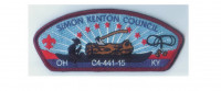 C4-441-15 CSP 3 beads Simon Kenton Council #441