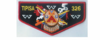 Lodge Flap Crimson Border (PO 85085r2) Central Florida Council #83