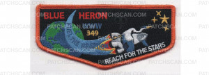 Patch Scan of Conclave Flap Orange Border (PO 86991)