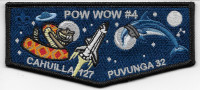 Pow Wow Cahuilla Puvunga lodges - Pocket flap California Inland Empire Council #45