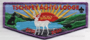 Patch Scan of TSCHIPEY ACHTU LODGE FLAP 2010-2020