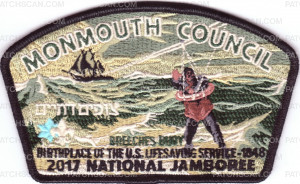 Patch Scan of Monmouth Council- 2017 NSJ- Breeches Buoy
