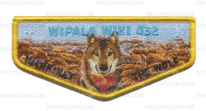 Patch Scan of Wipala Wiki 432 Kichkinet the Wolf flap