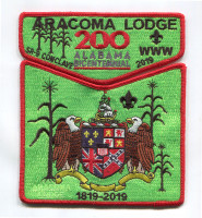 CWC aracoma section pocket 2019 Black Warrior Council #6