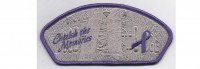 Wood Badge CSP Cherish the Memories Purple Border (PO 87665) Yocona Area Council #748