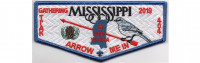Mississippi Gathering Flap 2019 (PO 88917) Pine Burr Area Council #304