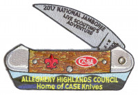 Home of the Case Knifes - Amber Bone - Moving Part CSP  Allegheny Highlands Council #382
