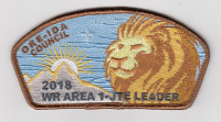 2018 WR AREA 1-JTE LEADER ORE-IDA CSP Mount Baker Council #606