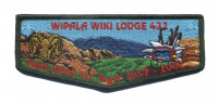 Wipala Wiki 432 Pang flap Grand Canyon Council #10