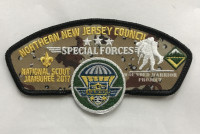 Special Forces JSP Set Northern New Jersey Council #333