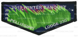 Patch Scan of GSMC - 2019 Winter Banquet Flap