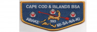 Lodge Flap (PO 88611) Cape Cod and the Islands Council #224