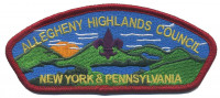 AHC - Council Strip Allegheny Highlands Council #382