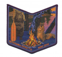 Michigamea Lodge 110 NOAC 2018 pocket patch #2 Pathway to Adventure Council #