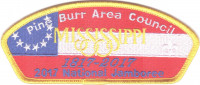Pine Burr Area Council 2017 National Jamboree KW1630 Pine Burr Area Council #304