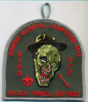 BADEN POWELL DISTRICT 2014 ZOMBIE North Florida Council #87