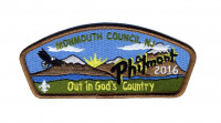 Monmouth - Philmont 2016 Monmouth Council #347