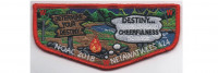 2018 NOAC Flap Red Border (PO 87955) Muskingum Valley Council #467