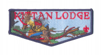 K124073 - Twin Rivers Council - Kittan Lodge NOAC Flap (Blue) Twin Rivers Council #364