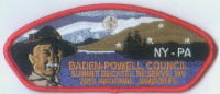 BADEN-POWELL TROOP JSP RED BORDER Baden-Powell Council #381