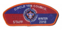 CTC - NYLT 2018 Orange Border Staff CSP Circle Ten Council #571