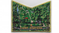 Camp Simpson 85th Anniversary Pocket Patch (PO 88668) Arbuckle Area Council #468