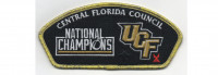 National Champions CSP Metallic Gold Border (PO 88107) Central Florida Council #83