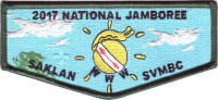 2017 National Jamboree - SVMBC - OA Flap  Silicon Valley Monterey Bay Council #55
