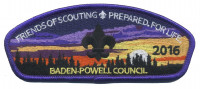 Friends of Scouting - Prepared for Life Baden-Powell Council #381
